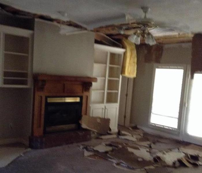 Brandon Home Ceiling Collapsed